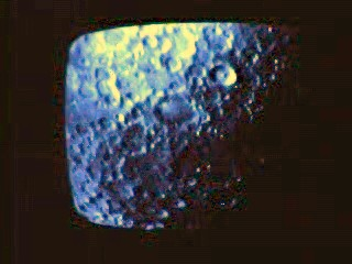 View of the moon surface